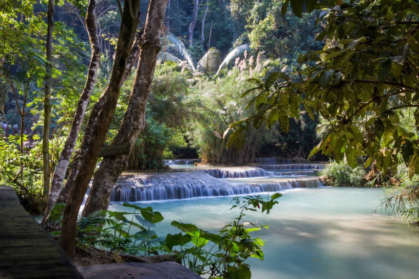 Kuang Si Falls au Laos