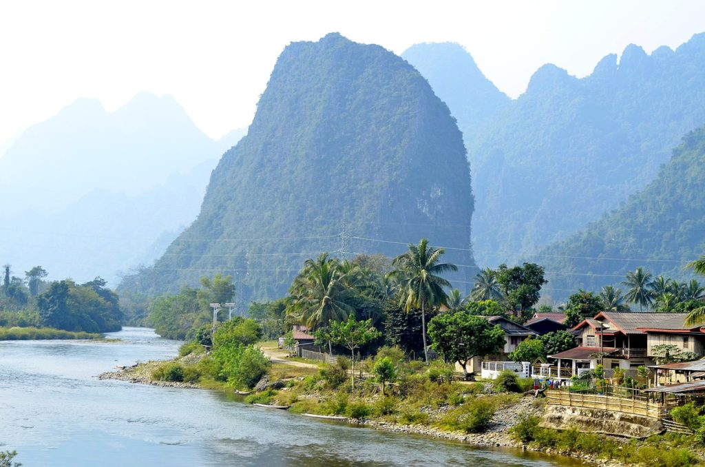 La petite ville de Luang Prabang