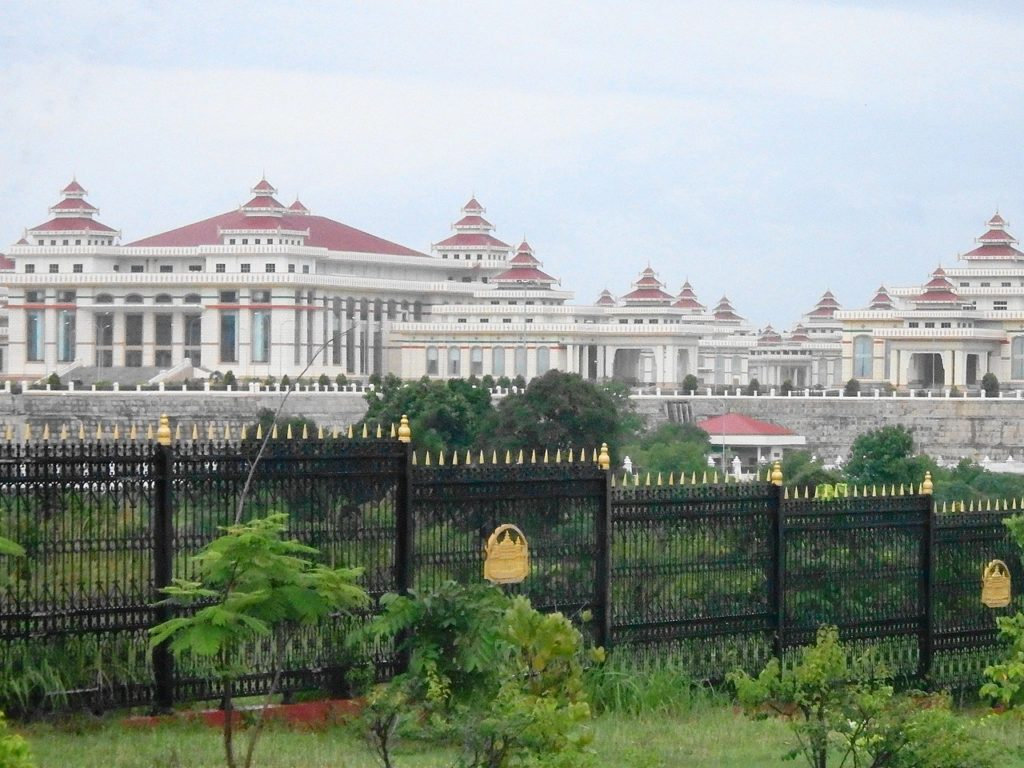 Le parlement de Naypyidaw