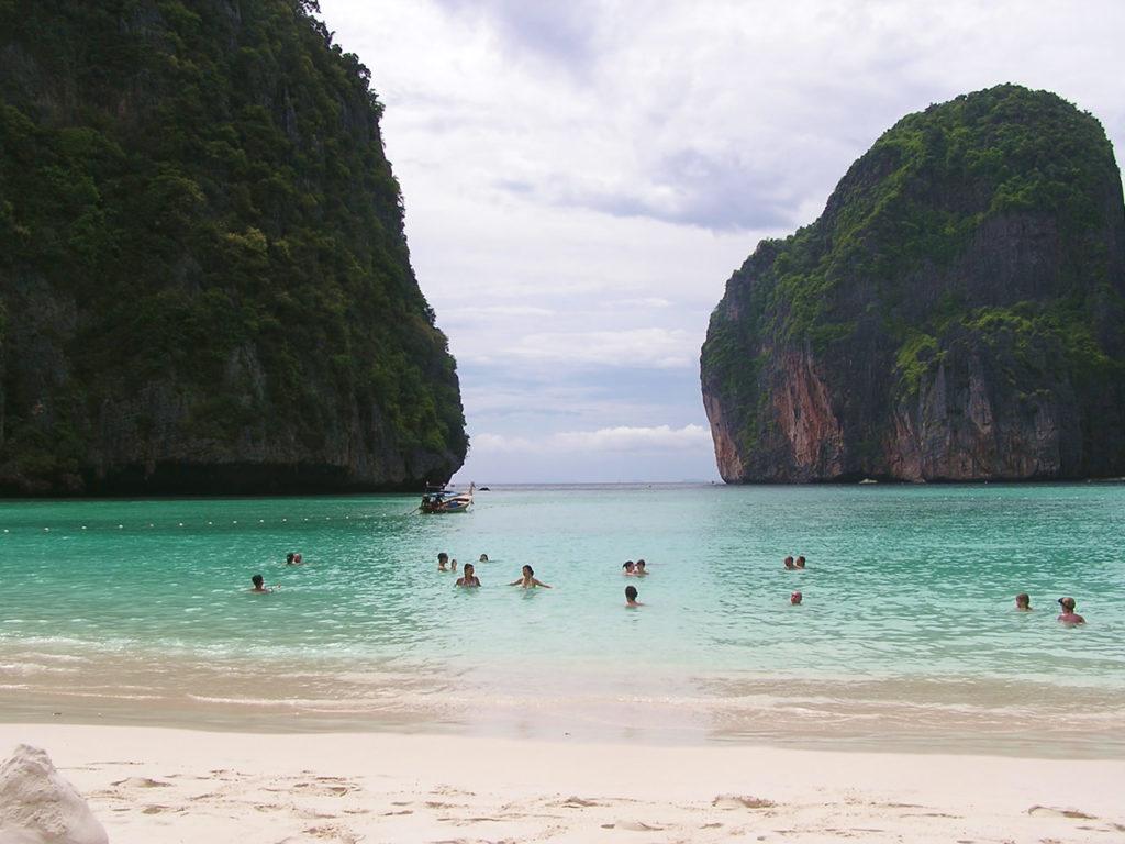 Plage de Li Phi sur les 400 îles au Laos