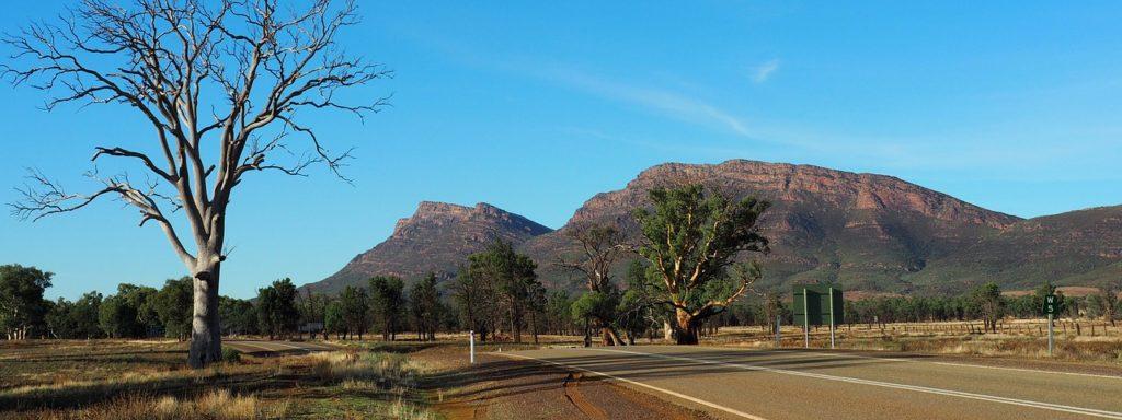 Flinders Ranges en Australie